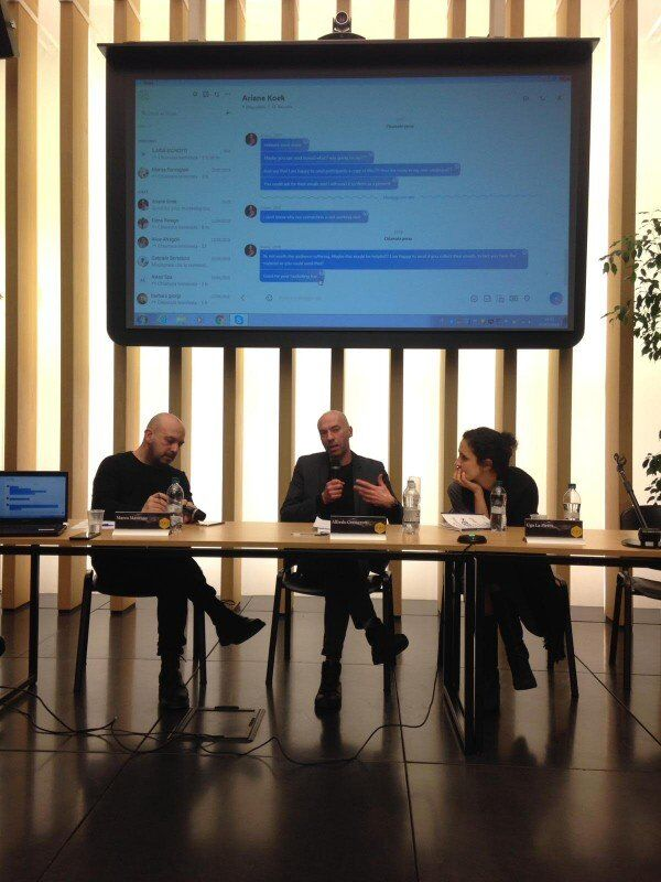PHANTOMOLOGY – THE PHENOMENOLOGICAL ENVIRONMENT | AN INVISIBLE ENERGY DIVES AND PHENOMENA OF CONTEMPORARY ART, Panel at CUBO UNIPOL Bologna