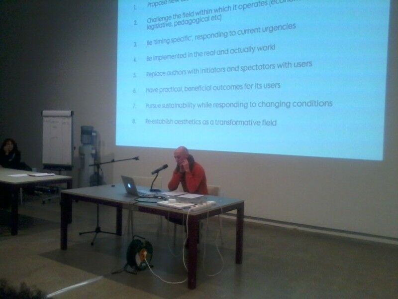 Giant Step 4 Conference, Alfredo Cramerotti: In Suspension: Closing Remarks on the Concept of Model