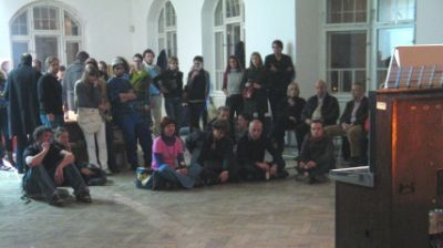 Aesthetic Journalism book launch and lecture performance by Fay Nicolson