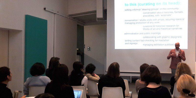 Curating and Social Change II: Talk and workshop by Alfredo Cramerotti at Connecting Spaces / University of Zurich Hong Kong