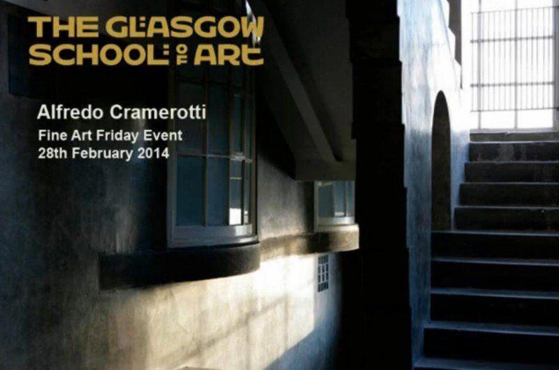 Friday Event, Glasgow School of Art: Alfredo Cramerotti