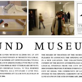 Lund Museum [artistic practice, curating, art management]