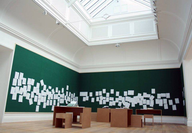 Developments in Conceptual Art -	The relationship between Artwork and Audience