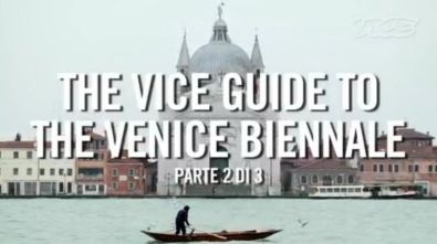 The 55 Venice Biennale on VICE Magazine: Video Interviews to Alfredo Cramerotti and Bedwyr Williams