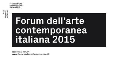 Cervelli, corpi e progetti in fuga - Forum dell'arte contemporanea italiana Prato