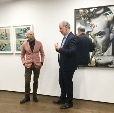 Acts of Appearance – Photographic Exhibition launch and talk at MutualArt / APT HQ, London, UK