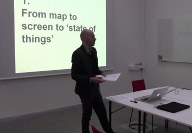 Lecture by Alfredo Cramerotti at Konstfack Stockholm: Hyperimaging